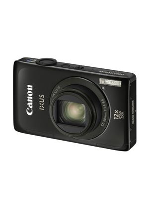 Canon IXUS 1100 HS Digital Camera - Black (12.1 MP, 12x Optical Zoom) 3.2 inch Touch Screen LCD