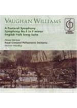 VERNON HANDLEY - Vaughan Williams: Symphony No 4; (A) Pastoral Symphony; English Folk Songs Suite