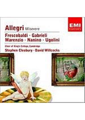 Gregorio Allegri - Miserere (Kings College Choir) (Music CD)