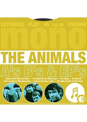 The Animals - As Bs & EPs (Music CD)