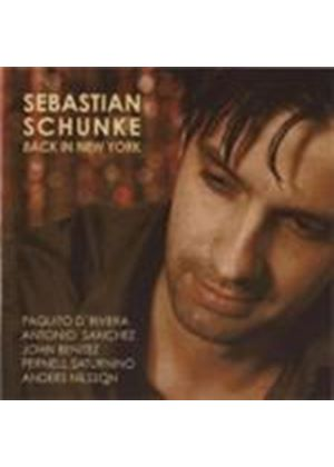 Sebastian Schunke - Back In New York (Music CD)