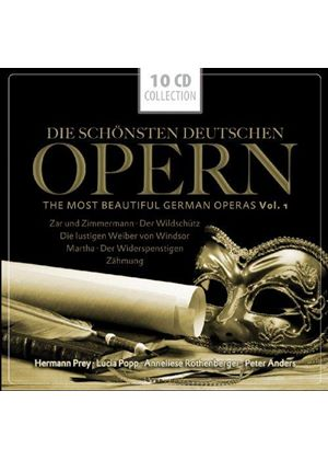 Most Beautiful German Operas (Music CD)