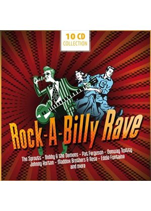 Various Artists - Rock-A-Billy Rave (Music CD)