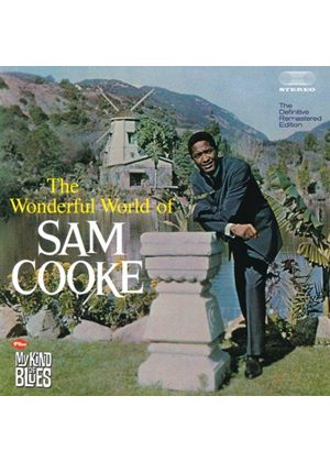 Sam Cooke - Wonderful Worlds of Sam Cooke/My Kind of Blues (Music CD)