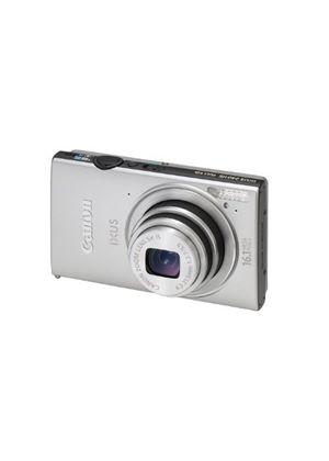 Canon IXUS 240 HS Digital Camera - Silver (16.1 MP, 5x Optical Zoom) 3.2 Inch LCD