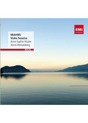 Brahms: Violin Sonatas Nos. 1-3 (Music CD)