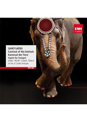 Saint-Saëns: Carnival of the Animals (Music CD)