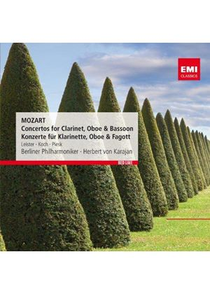 Mozart: Concertos for Clarinet, Oboe & Bassoon (Music CD)