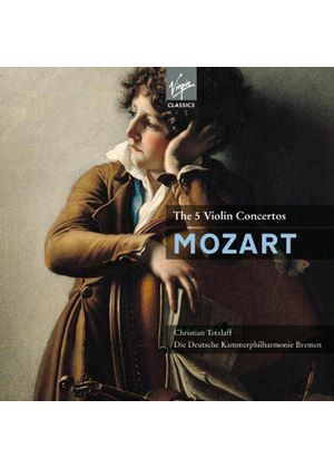 Mozart: The 5 Violin Concertos (Music CD)