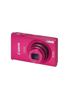 Canon IXUS 240 HS Digital Camera - Pink (16.1 MP, 5x Optical Zoom) 3.2 inch LCD