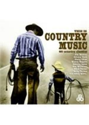 Various Artists - This Is Country Music (Music CD)