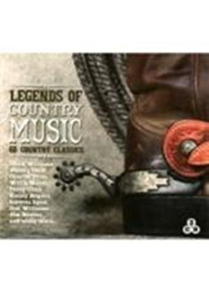 Various Artists - Legends Of Country Music (Music CD)