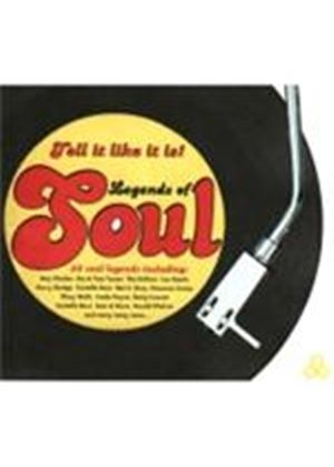 Various Artists - Legends Of Soul (Music CD)