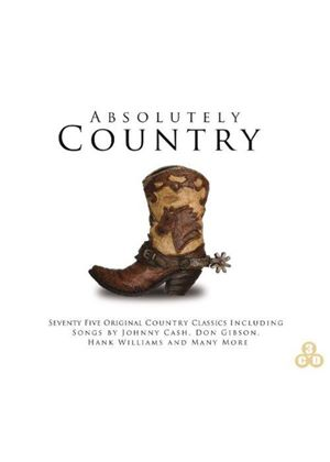 Various Artists - Absolutely Country (Music CD)