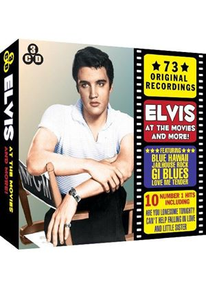 Elvis Presley - Elvis at the Movies and More! (Music CD)