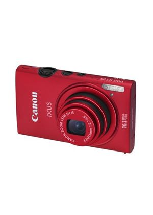 Canon IXUS 125 HS Digital Camera - Red (16.1MP, 5x Optical Zoom) 3.0 inch LCD