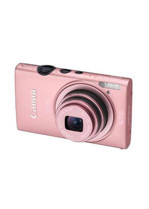 Canon IXUS 125 HS Digital Camera - Pink (16.1MP, 5x Optical Zoom) 3.0 inch LCD
