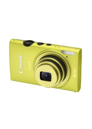 Canon IXUS 125 HS Digital Camera - Green (16.1MP, 5x Optical Zoom) 3.0 inch LCD