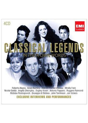 Classical Legends - In Their Own Words (Music CD)