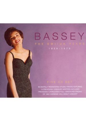 Shirley Bassey - Bassey - The EMI/UA Years 1959-1979 (Music CD)