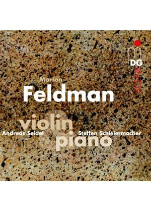 Morton Feldman: Violin & Piano (Music CD)