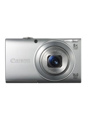 Canon PowerShot A4000 IS Digital Camera - Silver (16.0 MP, 8x Optical Zoom) 3.0 inch LCD