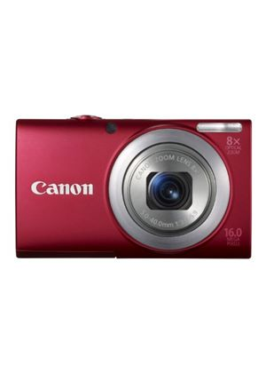 Canon PowerShot A4000 IS Digital Camera - Red (16.0 MP, 8x Optical Zoom) 3.0 inch LCD