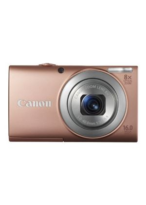 Canon PowerShot A4000 IS Digital Camera - Pink (16.0 MP, 8x Optical Zoom) 3.0 inch LCD