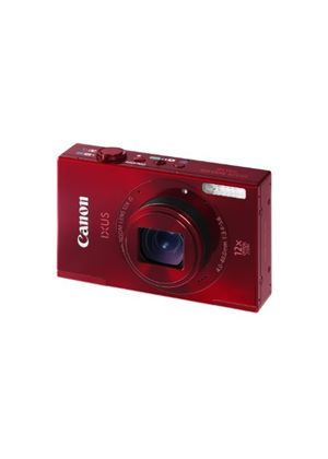 Canon IXUS 500 HS Digital Camera - Red (10.1MP, 12x Optical Zoom) 3.0 inch LCD