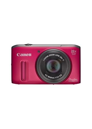 Canon Powershot SX260 HS Digital Camera - Red (12.1 MP, 20x Optical Zoom) 3.0 Inch LCD