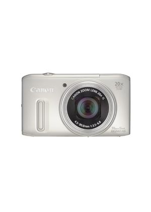 Canon Powershot SX240 HS Digital Camera - Silver (12.1 MP, 5x Optical Zoom) 3.2 Inch LCD