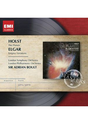 Holst: The Planets; Elgar: Enigma Variations (Music CD)