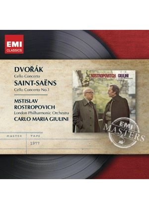 Dvorák & Saint-Saëns: Cello Concertos (Music CD)