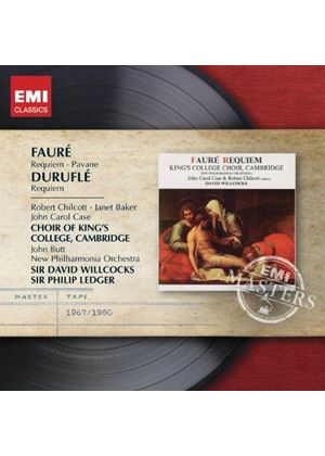 Fauré: Requiem; Pavane; Duruflé: Requiem (Music CD)