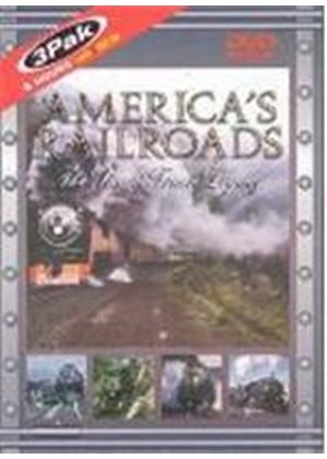 America's Railroads Vol.1 - The Steam Train Legacy(3 Disc)