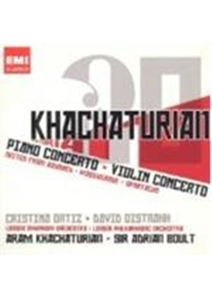 Khachaturian: Piano and Violin Concertos (Music CD)