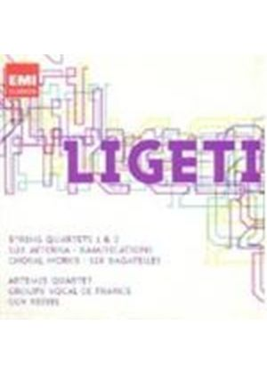 Ligeti: String Quartets Nos 1 & 2 (Music CD)