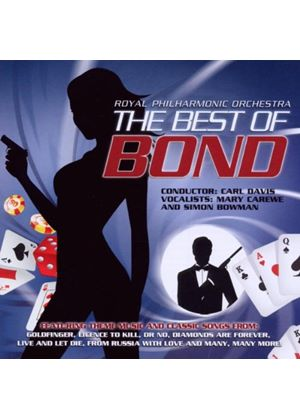Royal Philharmonic Orchestra - Best Of James Bond, The (Music CD)