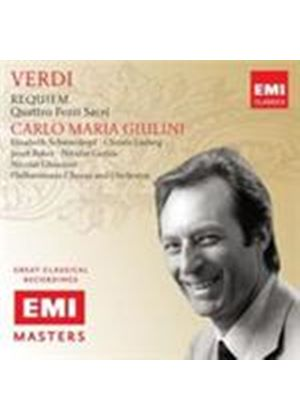 Verdi: Requiem; Four Sacred Pieces (Music CD)