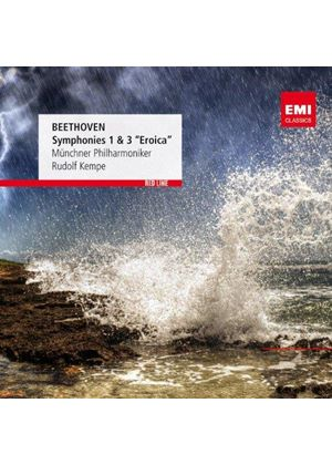 """Beethoven: Symphonies Nos. 1 & 3 """"Eroica"""" (Music CD)"""