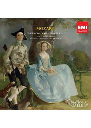 Mozart: Piano Concertos Nos. 20 & 24 (Music CD)