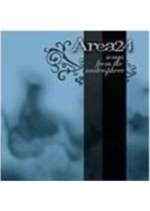 Area 24 - Songs From The Undersphere (Music CD)