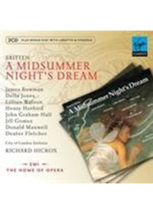 Britten: (A) Midsummer Night's Dream (Music CD)