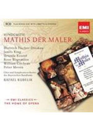 Hindemith: Mathis der Maler (Music CD)