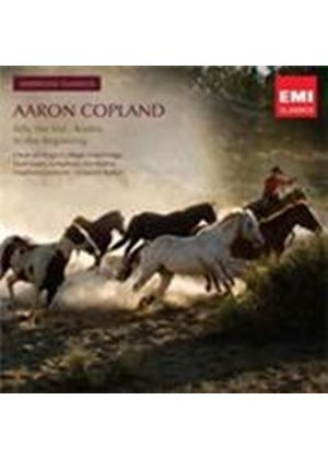 Copland: Billy the Kid; Rodeo; In the Beginning (Music CD)