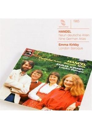 Handel: Nine German Arias, HWV 202-210 (Music CD)