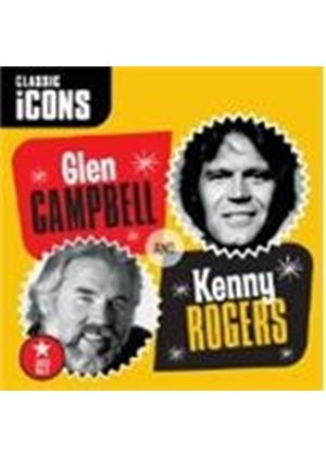 Glen Campbell/Kenny Rogers - Icons (Music CD)