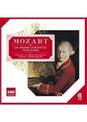 Mozart: Grand Concertos for Piano (Music CD)