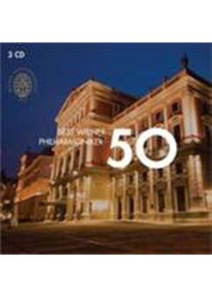 50 Best Wiener Philharmoniker (Music CD)