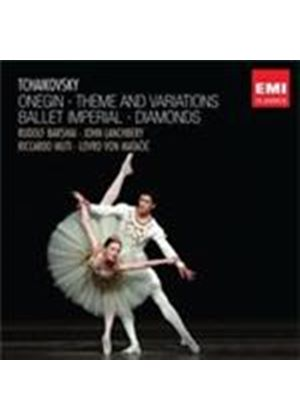 Tchaikovsky: Onegin; Theme and Variations; Ballet Imperial (Music CD)